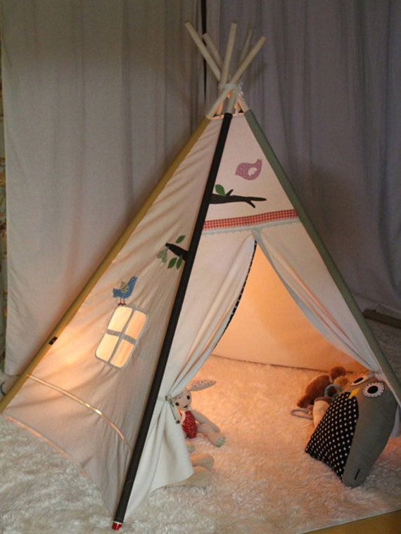 articles similaires tente indienne soabe amour tente tipi jouets enfants jouets enfants. Black Bedroom Furniture Sets. Home Design Ideas