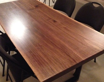 Live Edge, Dining Table, Black Walnut, Walnut, Table, Reclaimed, Wood table, Dine, Dine table