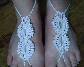 Crochet Barefoot Sandal PATTERN ONLY