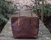 Leather Tote Bag - The Avery Tote - lowest price ever sold at!