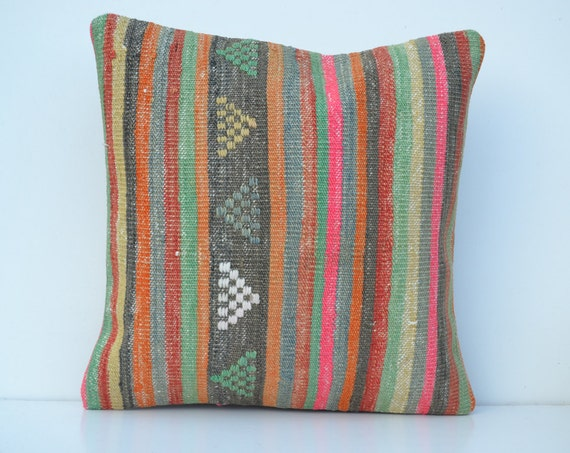 Hippie Floor Pillows : throw pillow boho bohemian floor pillows by SandyKilimPillow