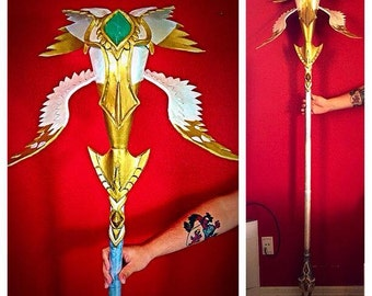 Custom Magic Staff prop for Cosplays and Costumes