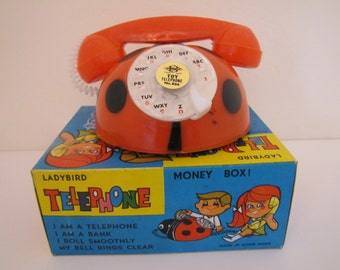 1970's Lady Bird Telephone (#886)