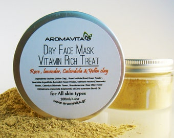 Vitamin Rich Treat Dry Face Mask For All Skin Types