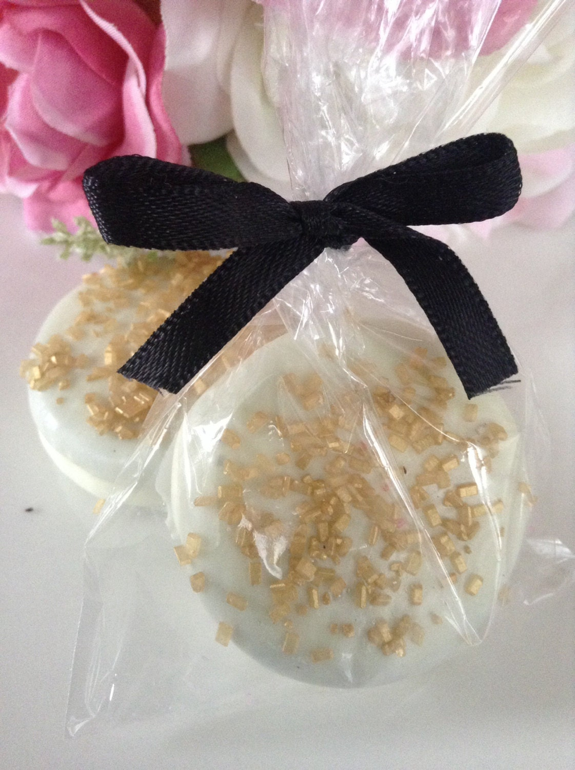 Gold Party favors Wedding Favors White Party Favors Chocolate