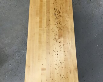Reclaimed Butcher Block Coffee Table