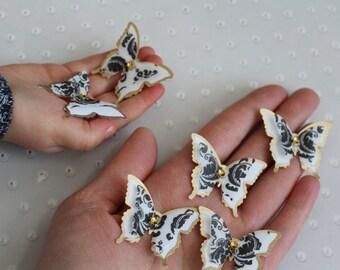 2 layer butterflies Wedding Butterflies Decoration /3D Bridal Shower Butterflies/Party Decoration