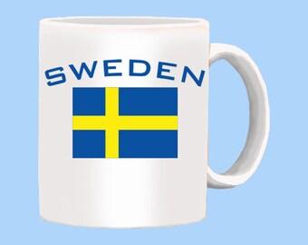 National Flag of Sweden Mug