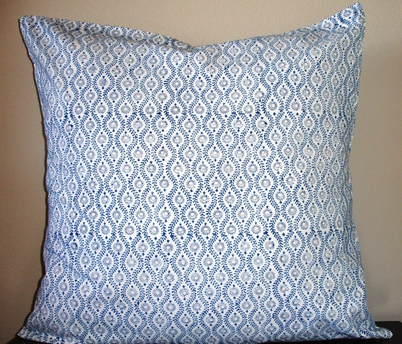 Throw Pillows 26 X 26 : 26 inch pillow cover / 26x26 / euro cover / hand block