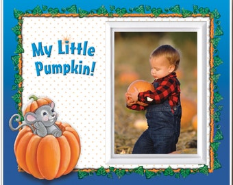 My Little Pumpkin Halloween Picture Frame Gift