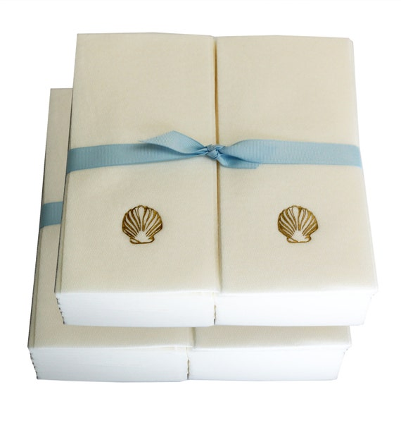 Paper Guest Towels Bathroom: Linen Like Disposable Guest Hand Towels Wrapped By NewHopeSoap