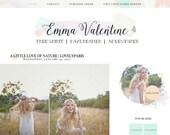 Emma Valentine Blogger Template