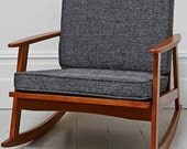 Danish Mid Century Inspired Rocking Chair- Now accepting July orders!