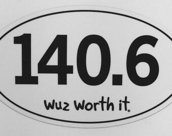 140.6 Sticker
