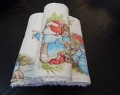 Beatrix Potter Peter Rabbit Burp Cloths - Set of 3
