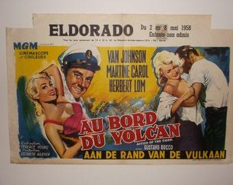 Original 1950's Continental Film Poster