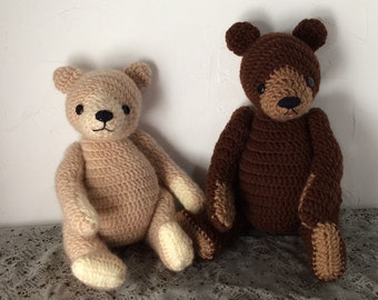 Good Old teddy bear Amigurumi Pattern