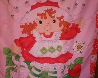 Pink Strawberry Shortcake Comforter