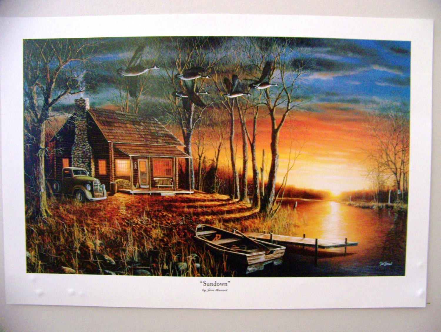 Jim Hansel United States Beauty Of America Wildlife Collection