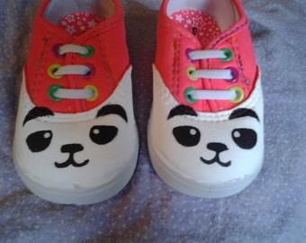 Baby panda shoes