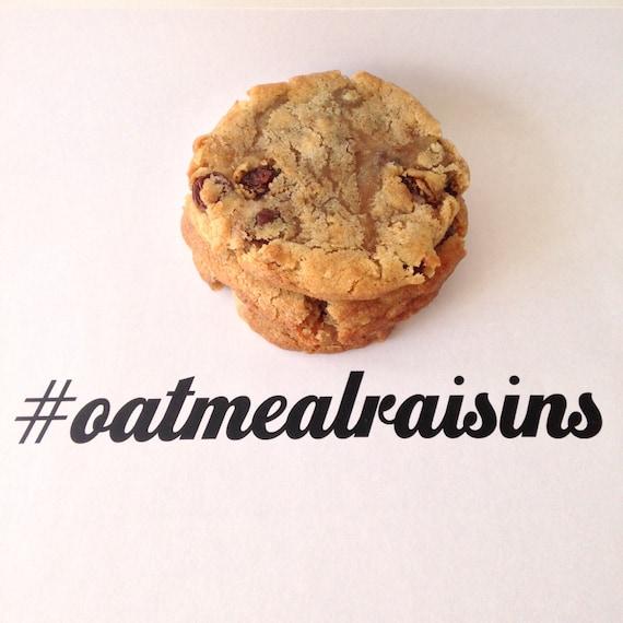 Oatmeal Raisins Cookies