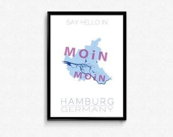 Say hello in Hamburg