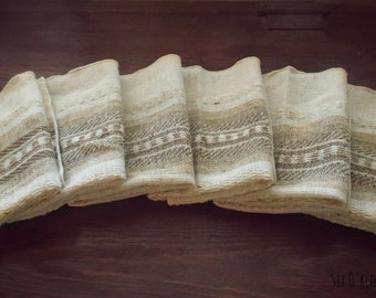 Items Similar To Woven Guatemalanstriped Tablet Set