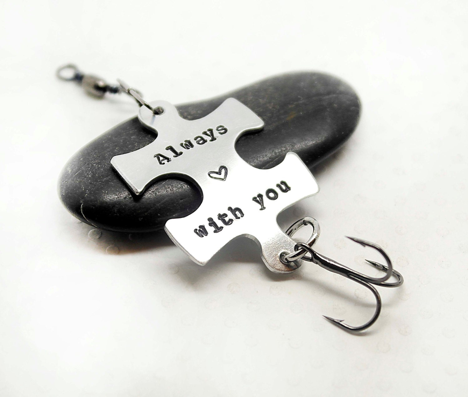 Puzzle fishing lure personalized fishing lure fish for Personalized fishing lure