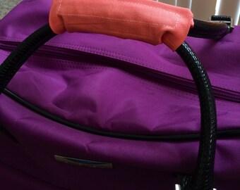 Pink Luggage Handle Wrap
