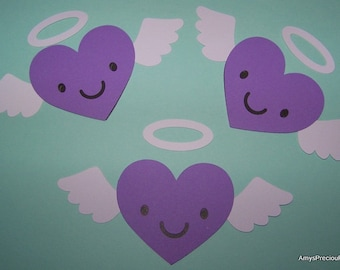 Angel heart die cuts