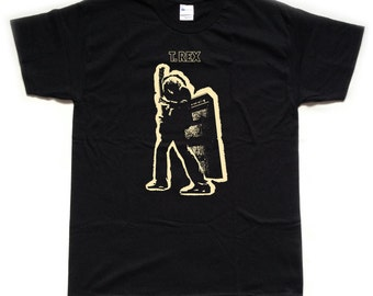 T REX / Marc Bolan screenprinted T SHIRT