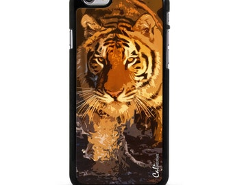 Mighty Siberian Tiger Aluminum/Plastic Case Cover for iPhone 6-IP6-024
