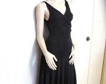 Little  Black Dress Sleeveless Dress Simple dress with Open back Sz S