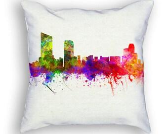 Grand Rapids Michigan Throw Pillow, 18x18, Cushion Home Decor, Gift Idea, Pillow Case 02