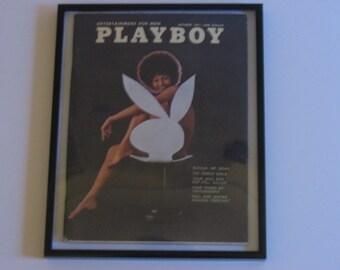 October 1971 Framed Playboy Magazine