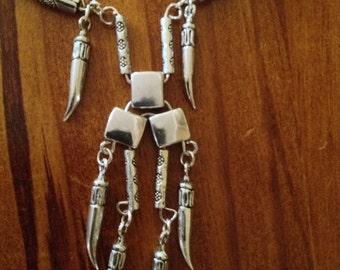 Handmade Tibetan Silver Necklace