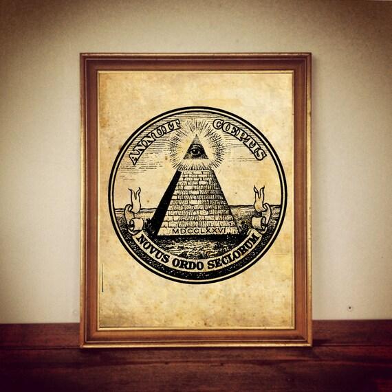 Https Etsy Com Listing 225585474 New Order Symbol Masonic Illuminati