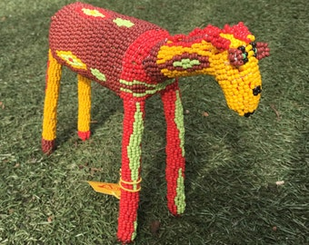 Made in South Africa Monkeybiz beaded animal