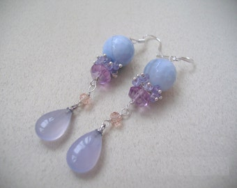 Blue mist earrings EA51