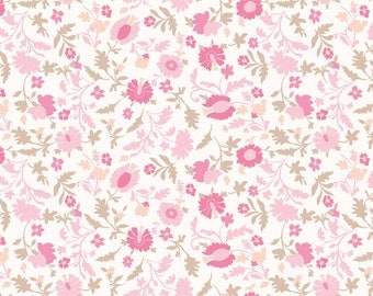 Bouquet Summer Spray Rose by Annette Tatum for Free Spirit - 1 yard