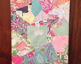 Lilly Pulitzer Collage