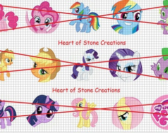 My Little Pony Bottle Cap Image Sheet