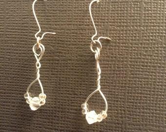 Delicate dangle earrings!
