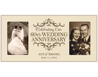 Gift Ideas 60th Wedding Anniversary Grandparents : th wedding anniversary photo