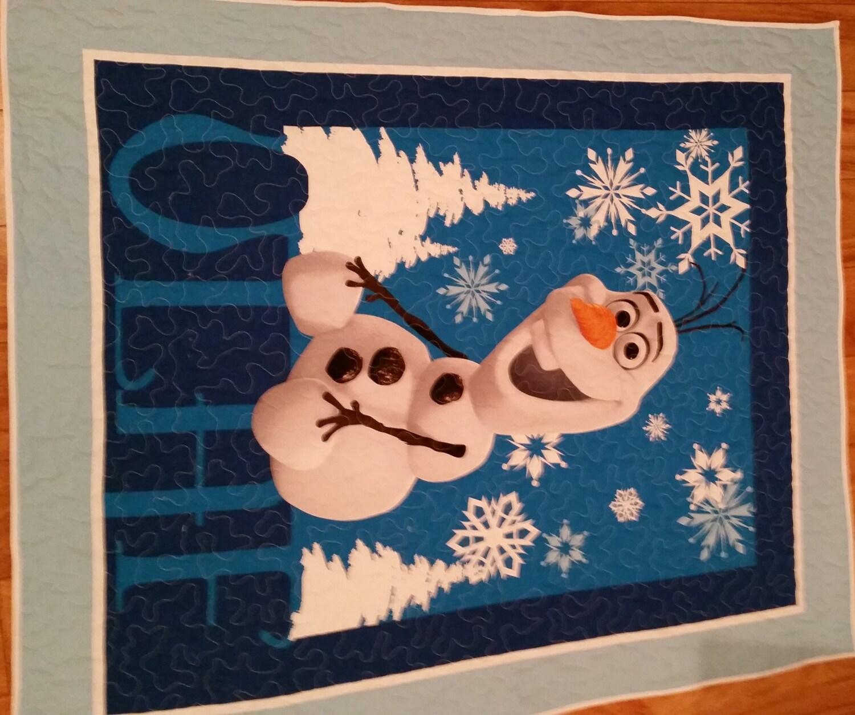 Disney Olaf Baby Quilt