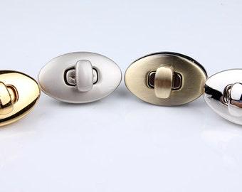 Purse lock twist purse turn lock clutch lock ,One Set,High Quality Key Locks / Flip Locks For Bags,Bag Making Suppliers-LSYD07