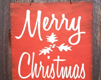 Christmas Sign, Christmas Decor, Merry Christmas Sign, Merry Christmas, Christmas decoration