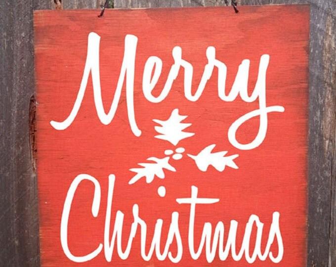 Christmas Sign, Christmas Decor, Merry Christmas Sign, Merry Christmas, Christmas decoration
