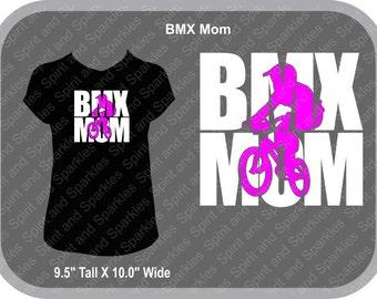 BMX Mom T-Shirt, Tank or Hoodie