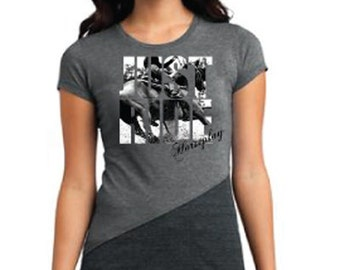 Horseplay JUST RIDE Barrel Racing T-Shirt
